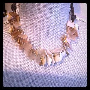 Shells & Brass Choker Necklace